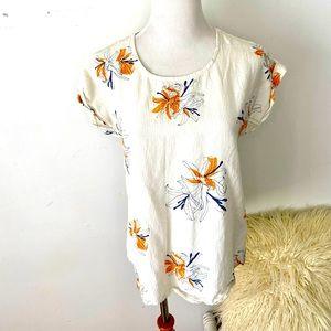 Kathmandu Size 8 Short Sleeve T Shirt Blouse Top